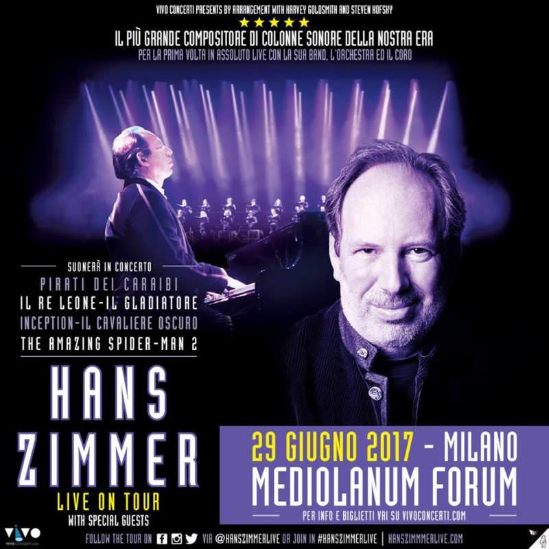 Hans Zimmer Live in Milan