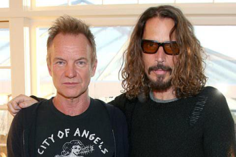 Sting e Chris Cornell